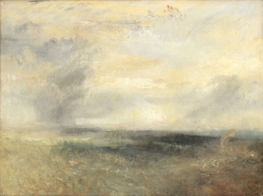 Joseph Mallord William Turner, 1775 - 1851 Margate (?), from the Sea about 1835-40 Oil on canvas, 91.2 x 122.2 cm Turner Bequest, 1856 NG1984 https://www.nationalgallery.org.uk/paintings/NG1984