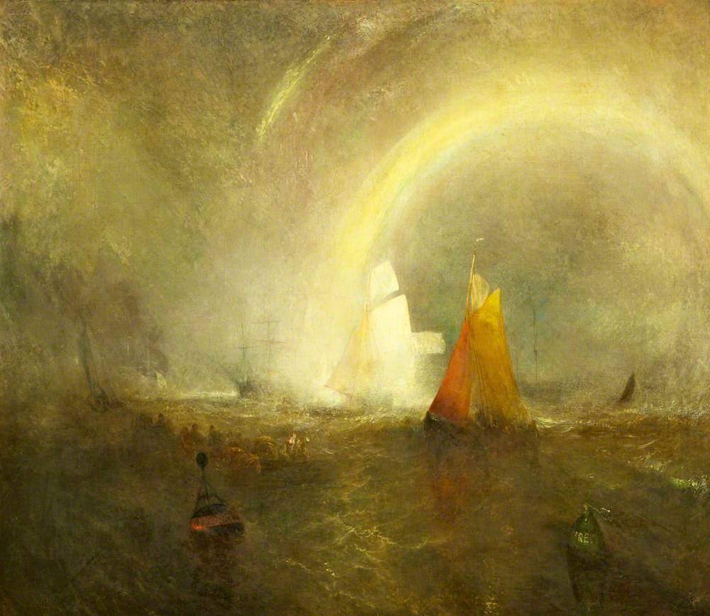 Turner, Joseph Mallord William, 1775-1851; The Wreck Buoy